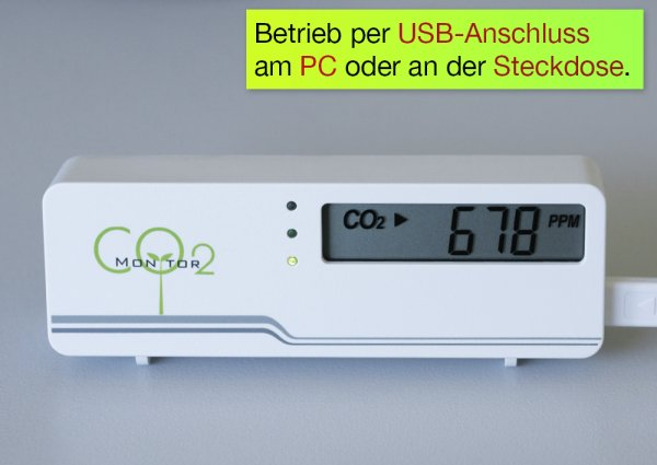 """Luftgüte-Messer CO2 """"Compact"""""""