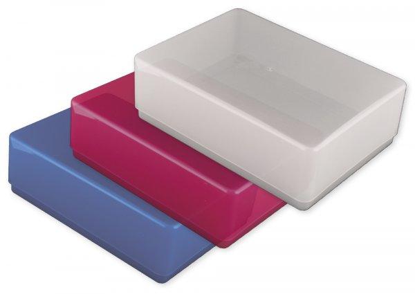 Kunststoff-Boxen A6-Plus, transparent