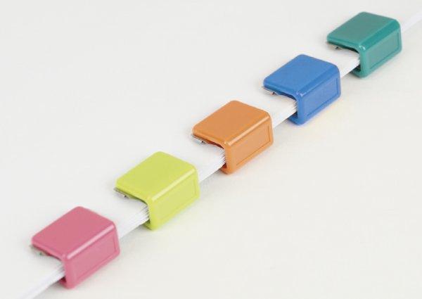 Set Papierstapel-Klammern XL, 5-tlg., opak
