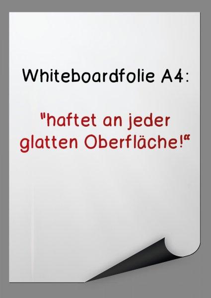 TimeTEX Whiteboard-Folie A4, selbsthaftend, 5 Stück