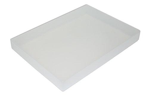 Kunststoff-Box A3 transparent farblos