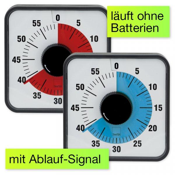 """Zeitdauer-Uhr """"Automatik"""" magnetisch, 19x19 cm"""