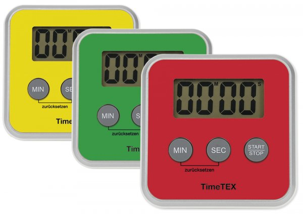 """TimeTEX Zeitdauer-Uhr """"Digital"""" compact"""