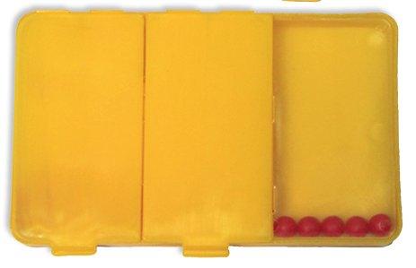Schüttelbox 3-tlg., mit 20 Perlen