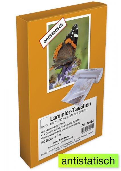 Laminiertaschen A4 2x125 mic klar