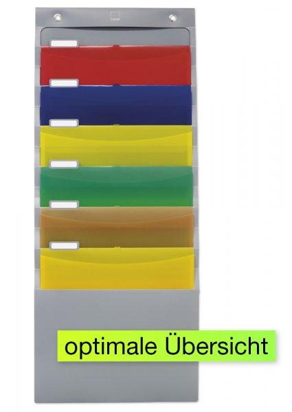 Hänge-Orga-Mappe für A4 mit Beschriftungsleiste