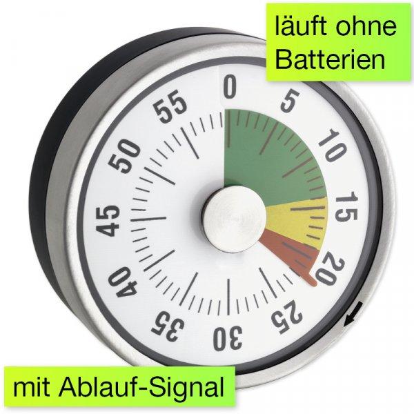 """Zeitdauer-Uhr """"Automatik"""" Compact mit Magnet und Ampelscheibe"""