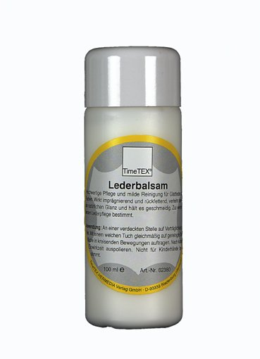 TimeTEX Lederbalsam für Glattleder, 100 ml