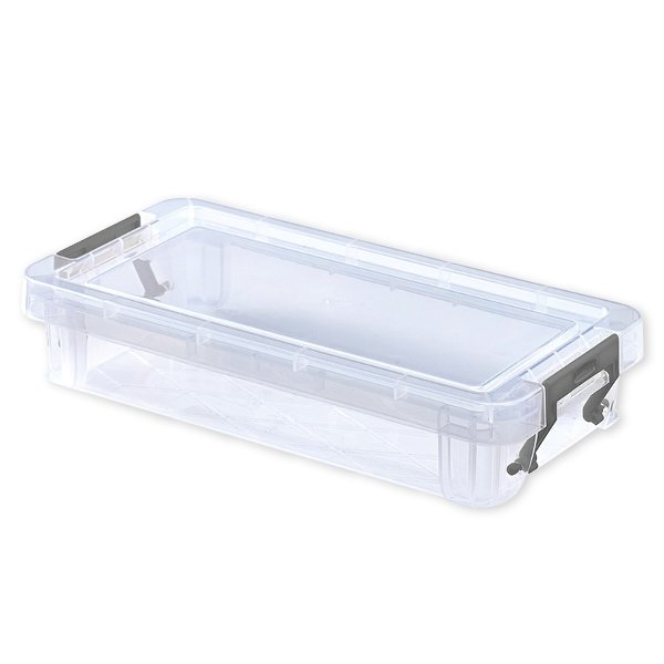 Kunststoff-Box stapelbar, transparent, 0,75 Liter