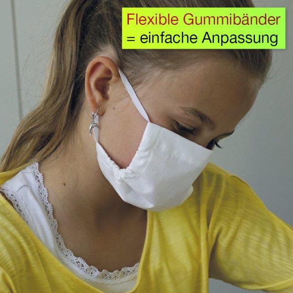 Alltags-Gesichtsmaske mit Membranfilter S (Kinder)