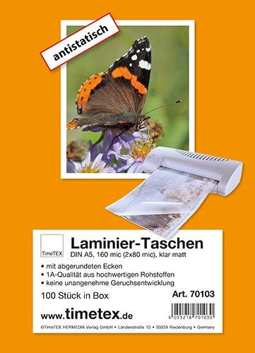 Laminier-Taschen A5 2x80 mic matt, 100 Stück