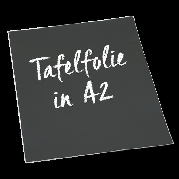 Tafelfolie A2 selbstklebend, schwarz, 2 Stück